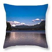 Beautiful Bc Throw Pillow by Robert Bales