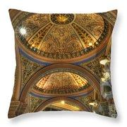 Beautiful Church Throw Pillow by Kathleen Struckle