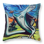 Beautiful Dreamer Bella Reveuse Au Le Monde Throw Pillow by Feile Case
