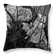 Beautiful Floral Blossoms Throw Pillow by Doc Braham