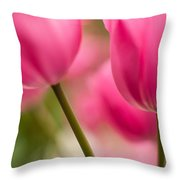 Beautiful Stems Throw Pillow by Mike Reid