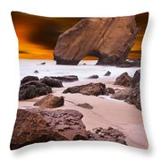 Beauty Essence Throw Pillow by Jorge Maia