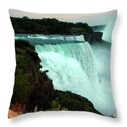 Beauty Throw Pillow by Kathleen Struckle