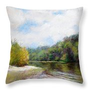 Beauty Of Nature  Throw Pillow by Nancy Stutes