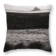 Before The Crossing Throw Pillow by Olivier Le Queinec