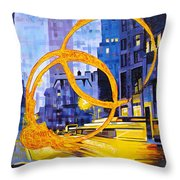 Before These Crowded Streets Throw Pillow by Joshua Morton