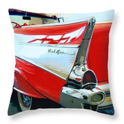 BEL AIR Palm Springs Throw Pillow by William Dey