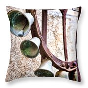 Bells In Sicily Throw Pillow by David Smith