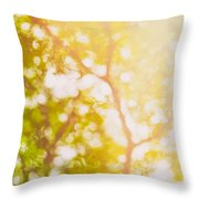 Beneath A Tree  14 5199   Diptych  Set 1 Of 2 Throw Pillow by Ulrich Schade