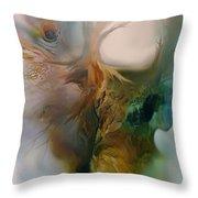 Beneath Throw Pillow by Carol Cavalaris