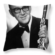 Benny Goodman (1909-1986) Throw Pillow by Granger