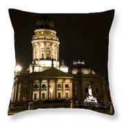 Berlin Gendarmenmarkt Throw Pillow by Frank Tschakert