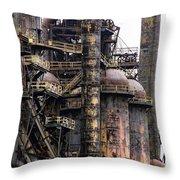 Bethlehem Steel Series Throw Pillow by Marcia Lee Jones