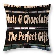 Better Than Sex Throw Pillow by Jim Nelson