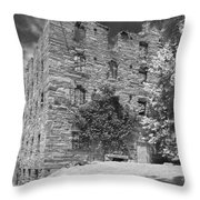Beverly Mill Throw Pillow by Guy Whiteley