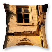 Beyoglu Old House 01 Throw Pillow by Rick Piper Photography