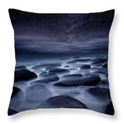 Beyond Our Imagination Throw Pillow by Jorge Maia