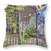 Beyond The Gate Throw Pillow by Jason Politte