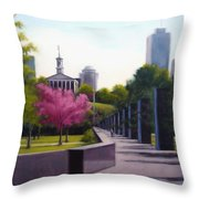 Bicentennial Capital Mall Park Throw Pillow by Janet King