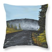 Big Sandy Throw Pillow by Ana Lusi