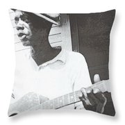 Bill Tatnall 1935 Throw Pillow by Daniel Hagerman