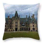 Biltmore Estate Throw Pillow by Christopher Gaston