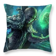 Biovisionary Throw Pillow by Ryan Barger