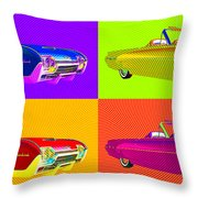 Bird Is The Word Throw Pillow by Richard Rizzo