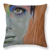 Bird Of Paradise Throw Pillow by Michael Creese