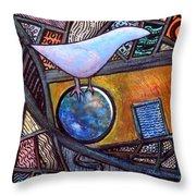 Birdball Throw Pillow by James Raynor