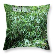 Birdhouse Collection II Throw Pillow by Suzanne Gaff