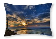 Birdy Bird At Hilton Beach Throw Pillow by Ron Shoshani
