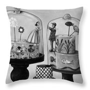 Bittersweet In Bw Throw Pillow by Leah Saulnier The Painting Maniac