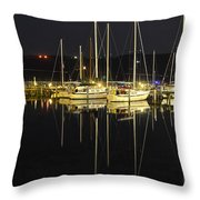 Black As Night Throw Pillow by Frozen in Time Fine Art Photography