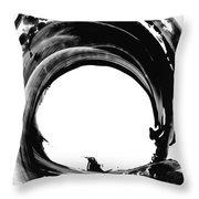 Black Magic 304 by Sharon Cummings Throw Pillow by Sharon Cummings