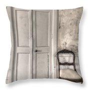 Blandness Throw Pillow by Margie Hurwich