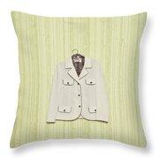 blazer Throw Pillow by Joana Kruse