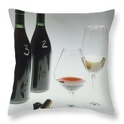 Blind Taste Test Throw Pillow by Jerry McElroy