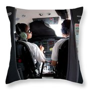 Blind Training Throw Pillow by Paul Job