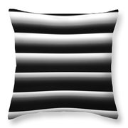 Blinded By Shadows Throw Pillow by Christi Kraft