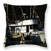 Blue Pacific Throw Pillow by Bill Gallagher