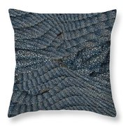 Blue Sheets Throw Pillow by Tim Allen