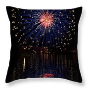 Blue Spectacular Throw Pillow by Bill Pevlor