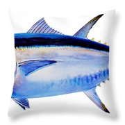 Bluefin tuna Throw Pillow by Carey Chen
