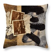 Bodhisattva 1952 Throw Pillow by Carol Leigh
