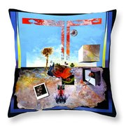 Bogomil Objects Throw Pillow by Otto Rapp
