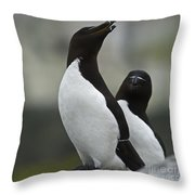 Bonded For Life... Throw Pillow by Nina Stavlund
