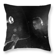 Bono 053 Throw Pillow by Timothy Bischoff