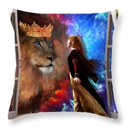 Born For Such A Time Throw Pillow by Dolores Develde