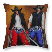 Born In The Usa Throw Pillow by Lance Headlee